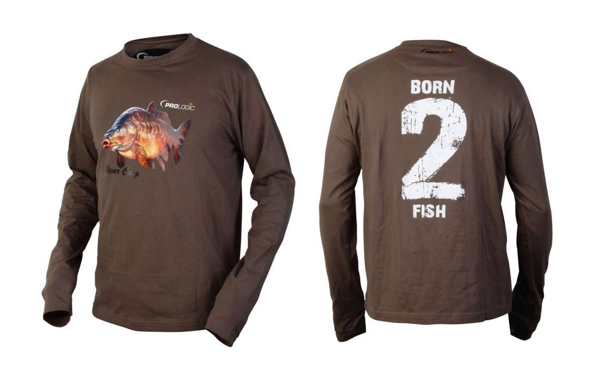 PL BORN 2 FISH LONG SLEEVE T-SHIRT Prologic