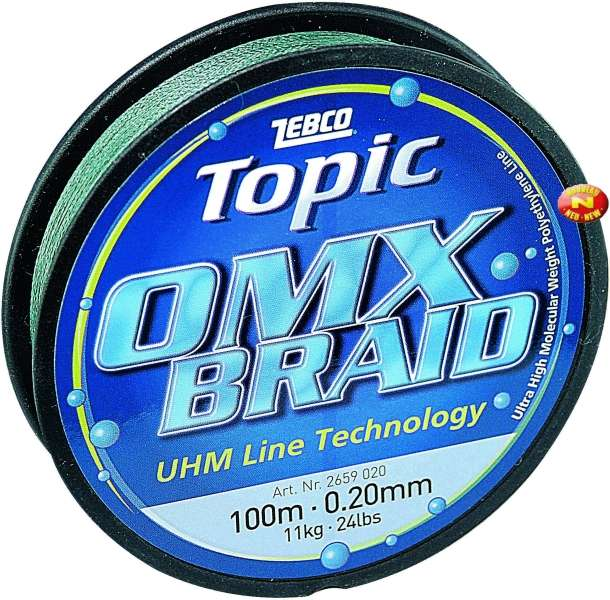 Topic OMX Braid - 250m Zebco