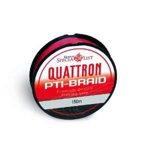 Quattron PTI-Braid - 150m, red Browning