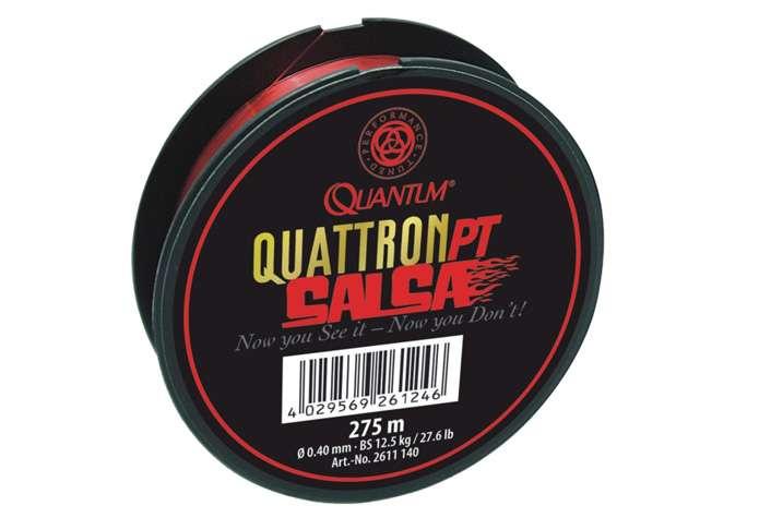 Quattron PT Salsa Line - červený vlasec Quantum