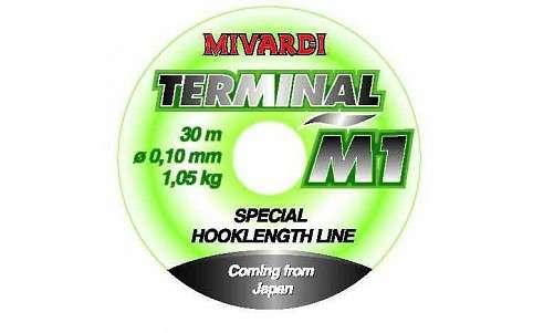 Návazcový vlasec - Terminal M1 - 30m Mivardi