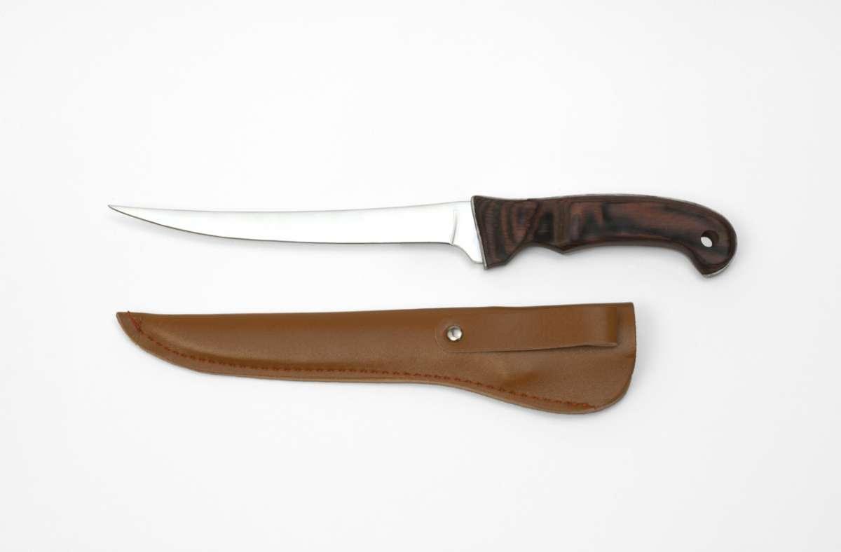 Filetovací nůž na blistru