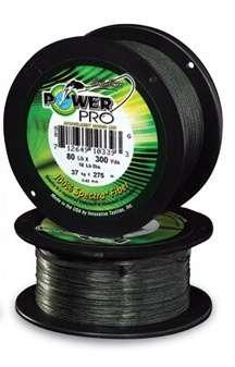 Šňůra Power Pro 10m - zelená PowerPro