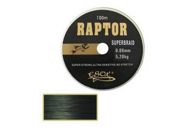 Šňůra RAPTOR DYNEMA - 0,50mm/70kg - na sumce