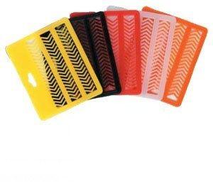 Zarážky karta mix barev Carp System