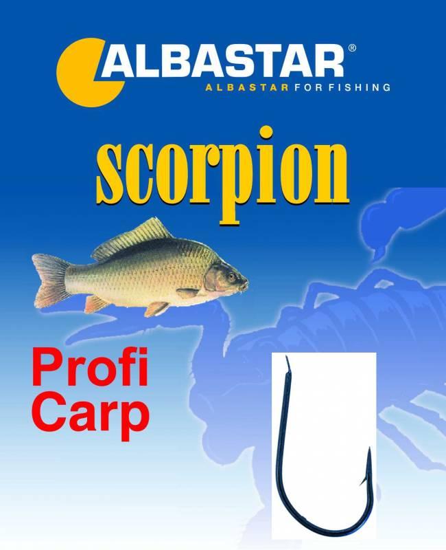 Háček navázaný ProfiCarp vel.1 Scorpion