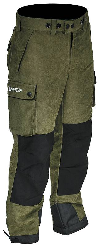 Kalhoty nepromokavé zelené Albastar