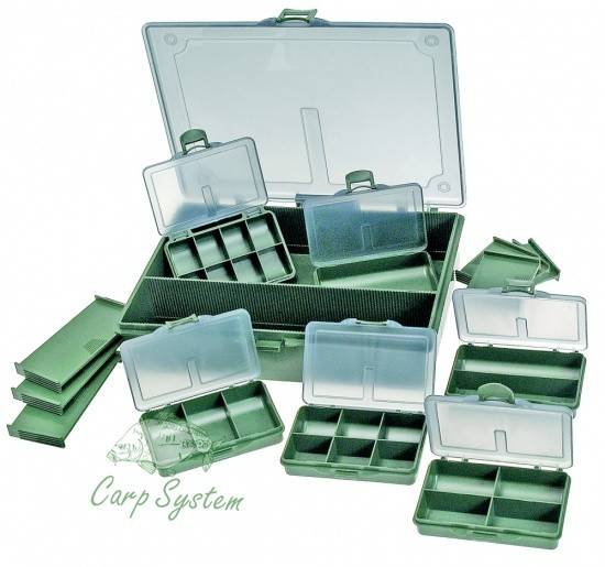 Exkluzivní plastový set box Carp System