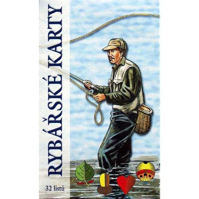 Karty hrací rybářské