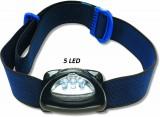Čelová lampa Zebco 5 LED