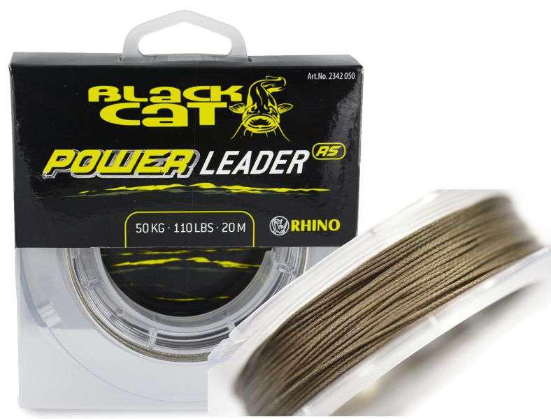 Návazcová šňůra Black Cat Power Leader 20m