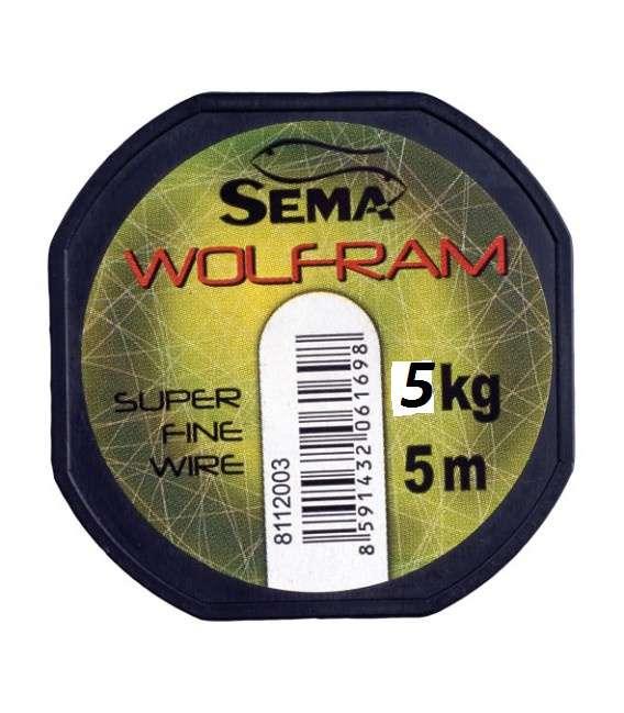 Wolframové lanko 5kg (5m) Sema