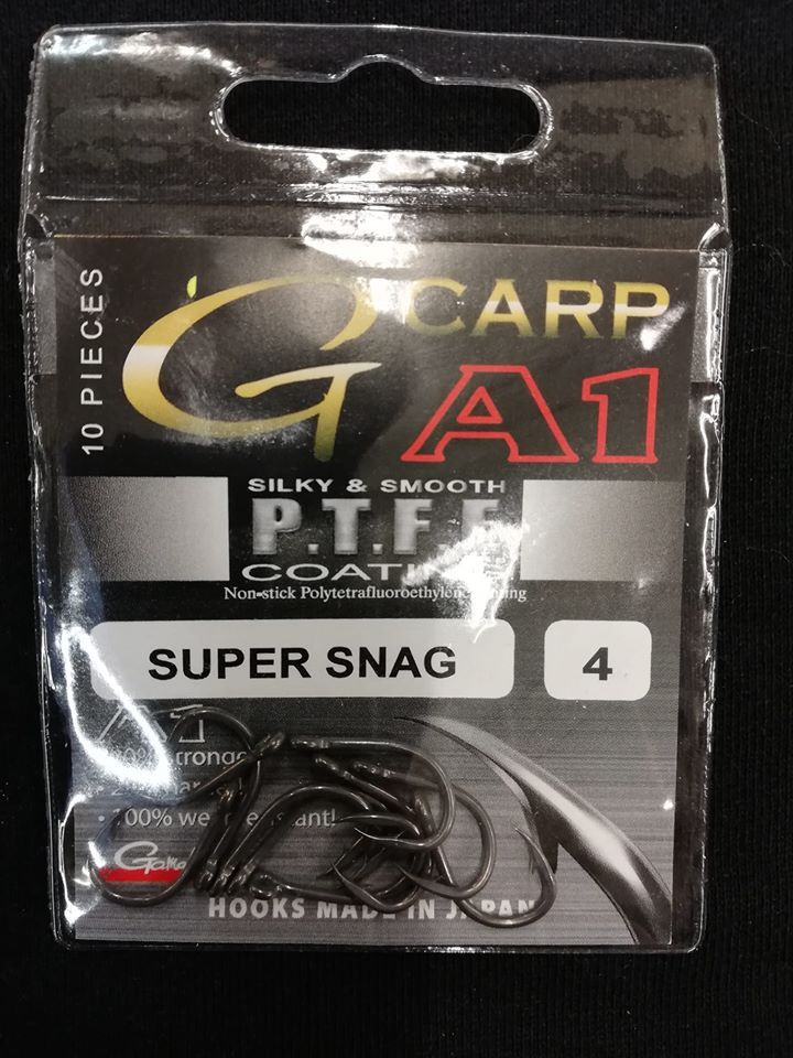 Háček G-Carp A1 PTFE Super Snag Gamakatsu