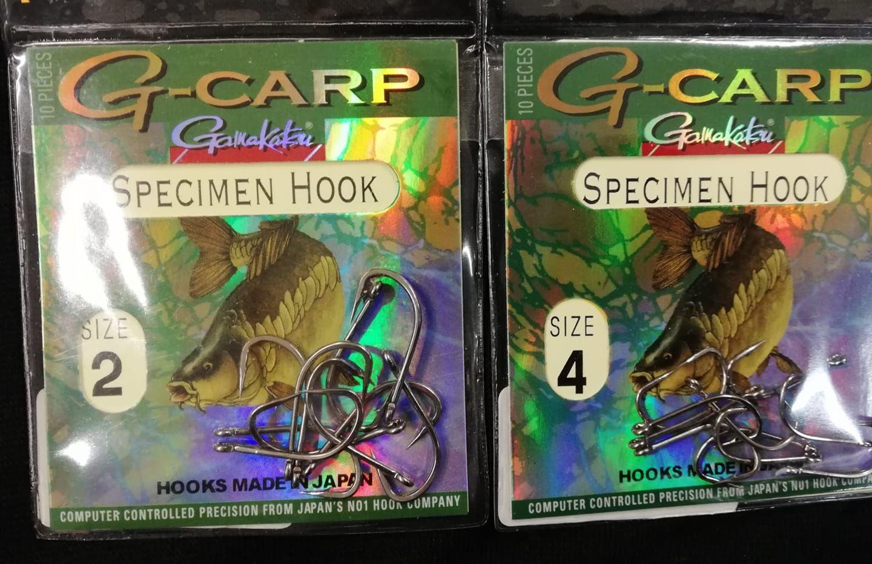 Háček G-Carp Specimen Gamakatsu