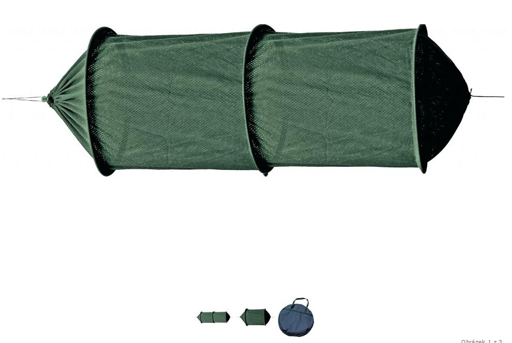 Vezírek ECO černý zip 50x150 Carp System