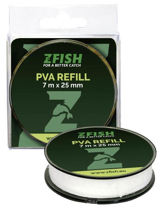 PVA Náhradní Rukáv Refill 7mx25mm Zfish
