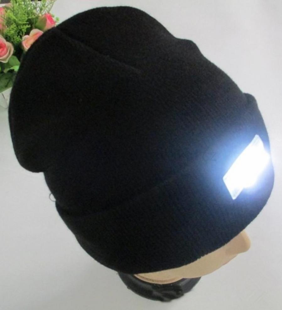Čepice s LED světlem Cormoran