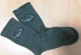 Ponožky Exluzive - rybářský motiv - zelené