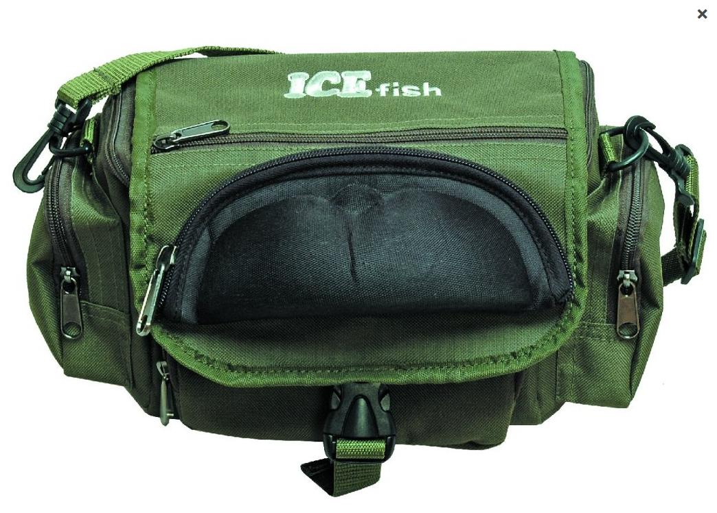 Přívlačová taška ICE fish